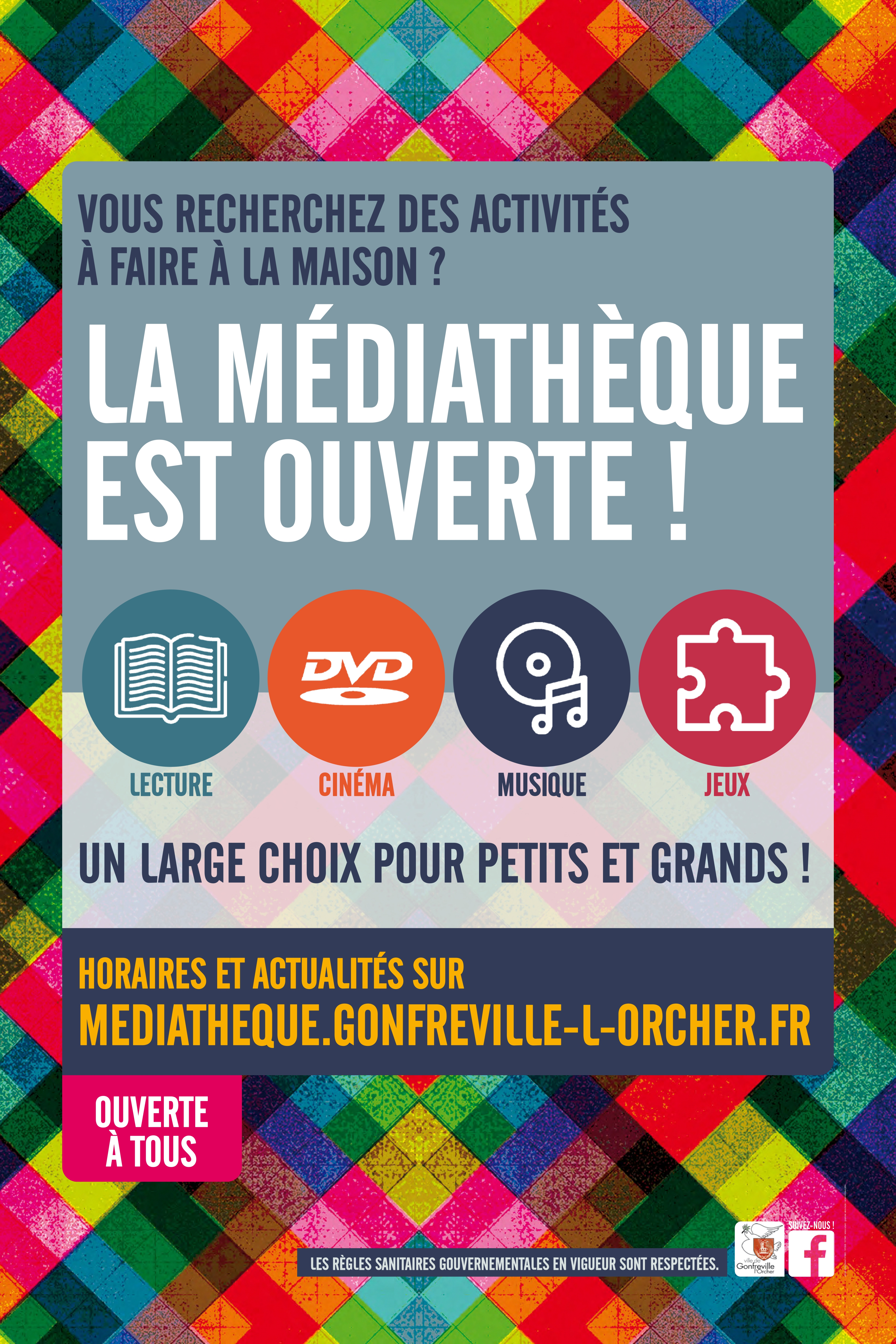 Rouverture Mediatheque